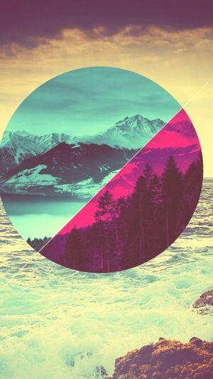 Hypster Walpaper Art Design Geometry