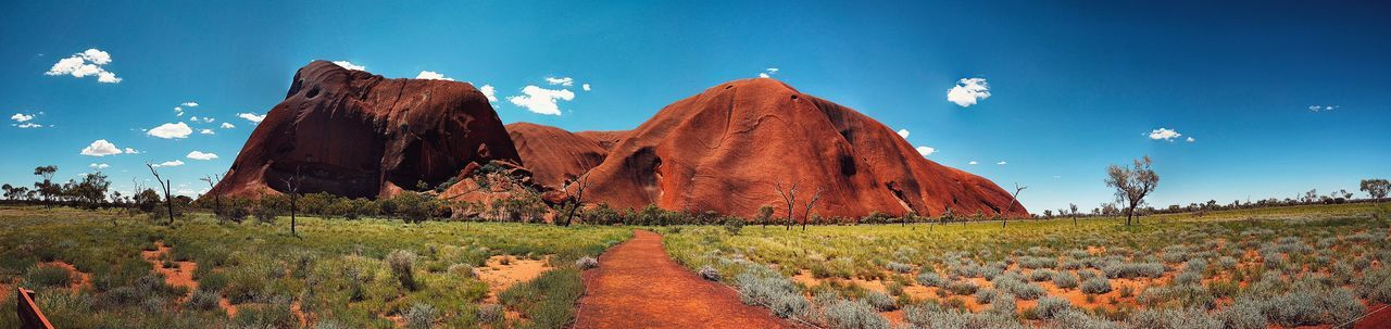 Ayers Rock Nature Panoramic Photography Day Australia & Travel Panorama Australian Landscape Australia Landscape Uluru No People Beauty In Nature Panaramic IPhoneography