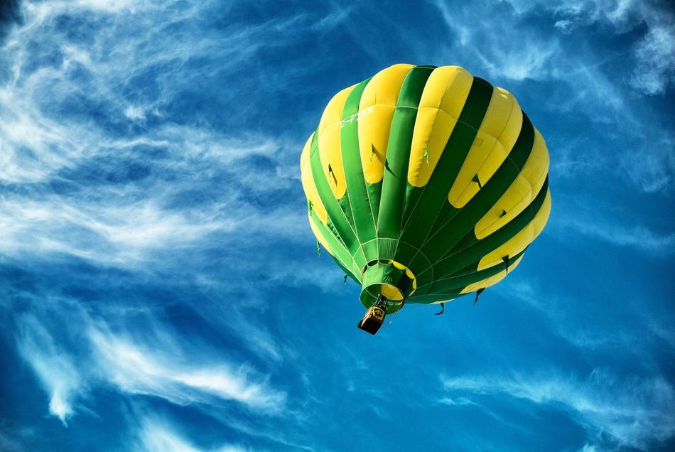 Beautiful stock photos of balloon, Adventure, Blue, Day, Exploration