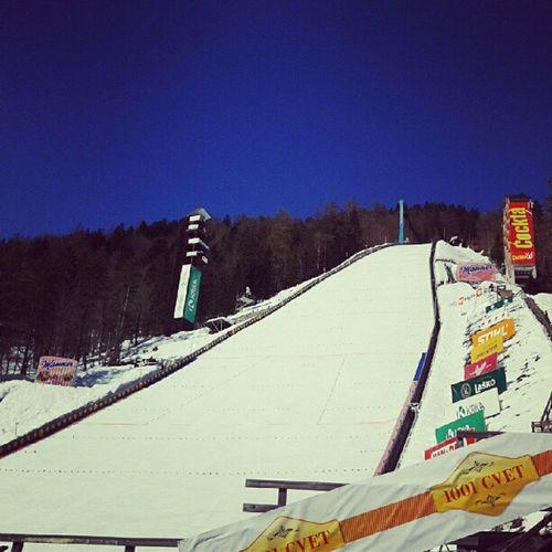 Planica! Planica Skijumps Championship Great happy working