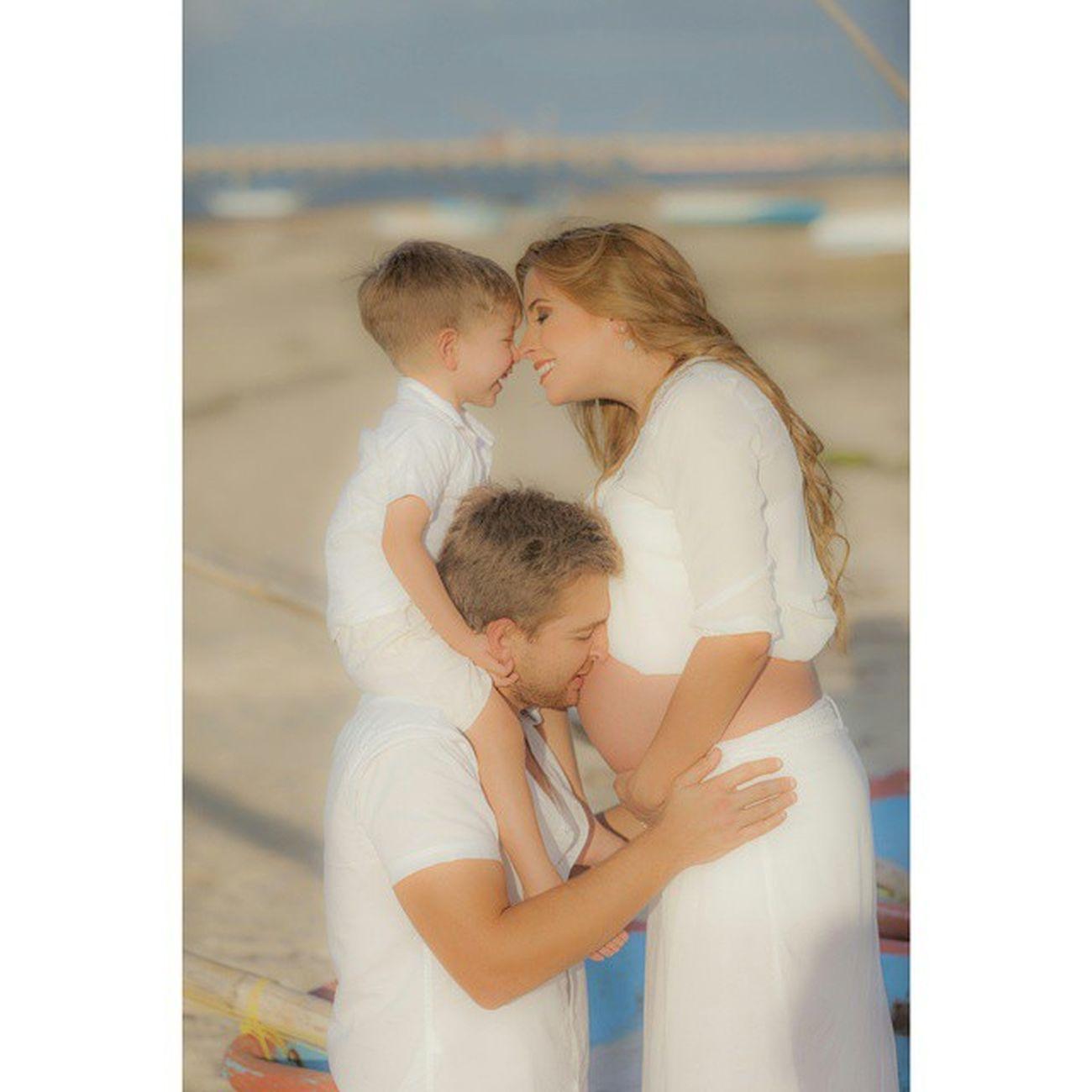 Canon 5dmarkll Família Playa Amor Love Bebe Feliz Embarazo Tdt Atardecer
