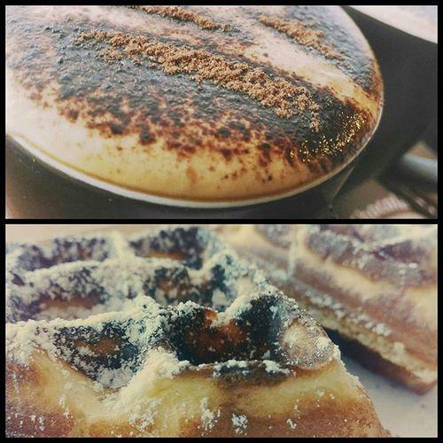 Sunday breakfasts 😍 SundayMornings McCafe Waffles Coffee