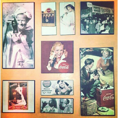 Vintage Coca Cola collage