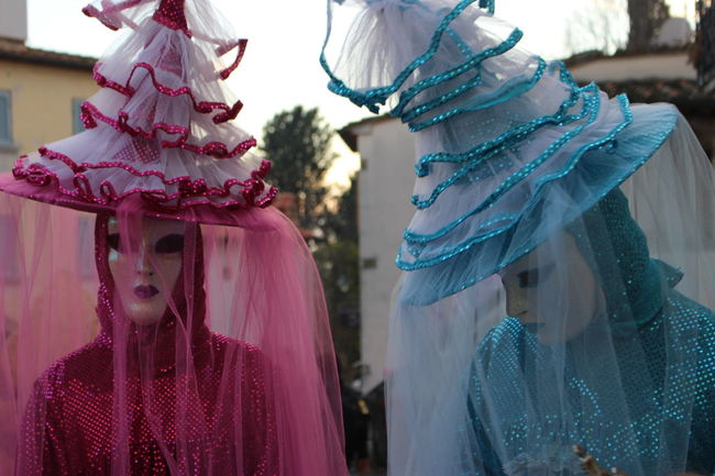 Colors Of Carnival Carnival Carnival Time Costume Costumes Showcase: February The Week On EyeEm Happiness Pink Pink Color Light Blue
