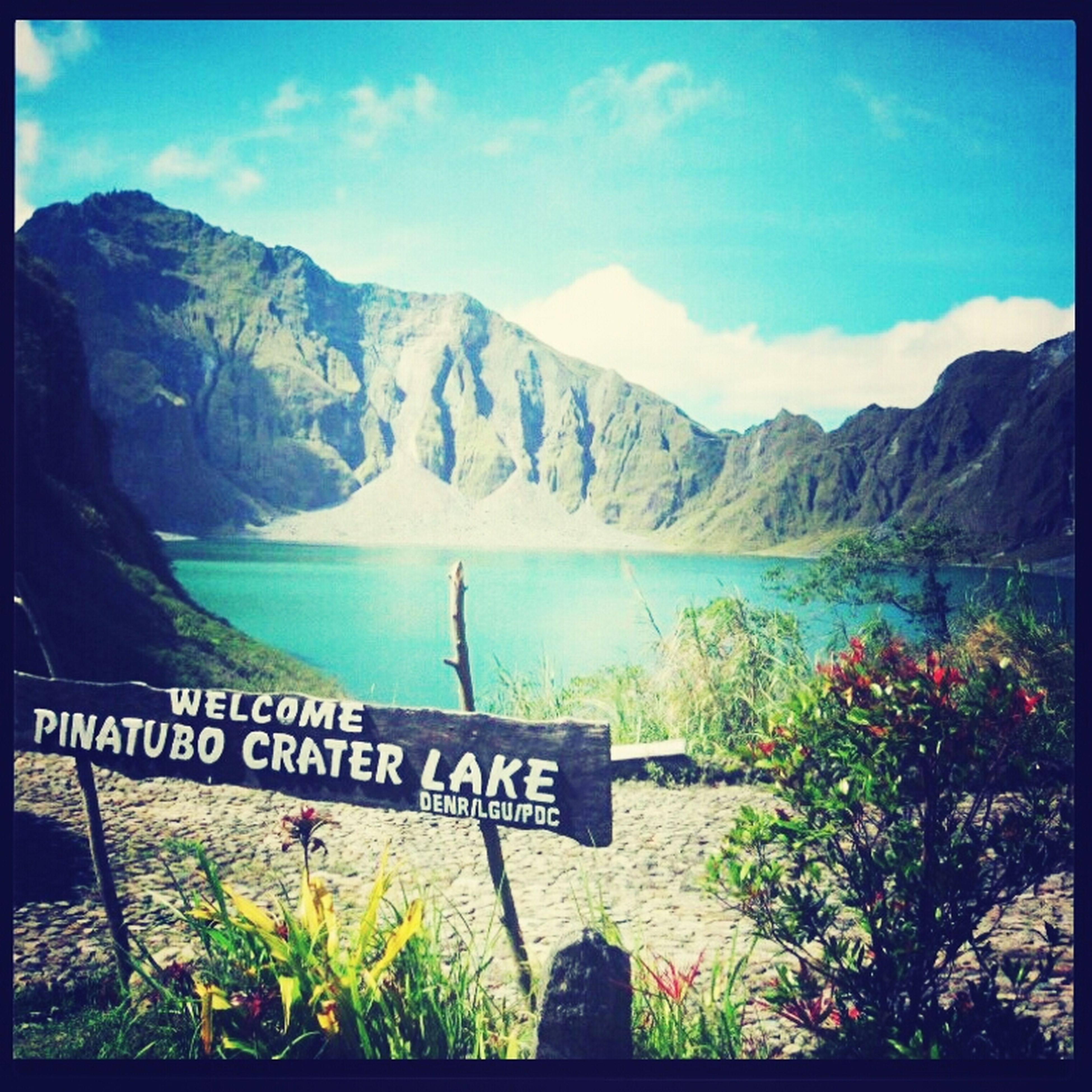 crater lake of mt pinatubo Enjoying Life