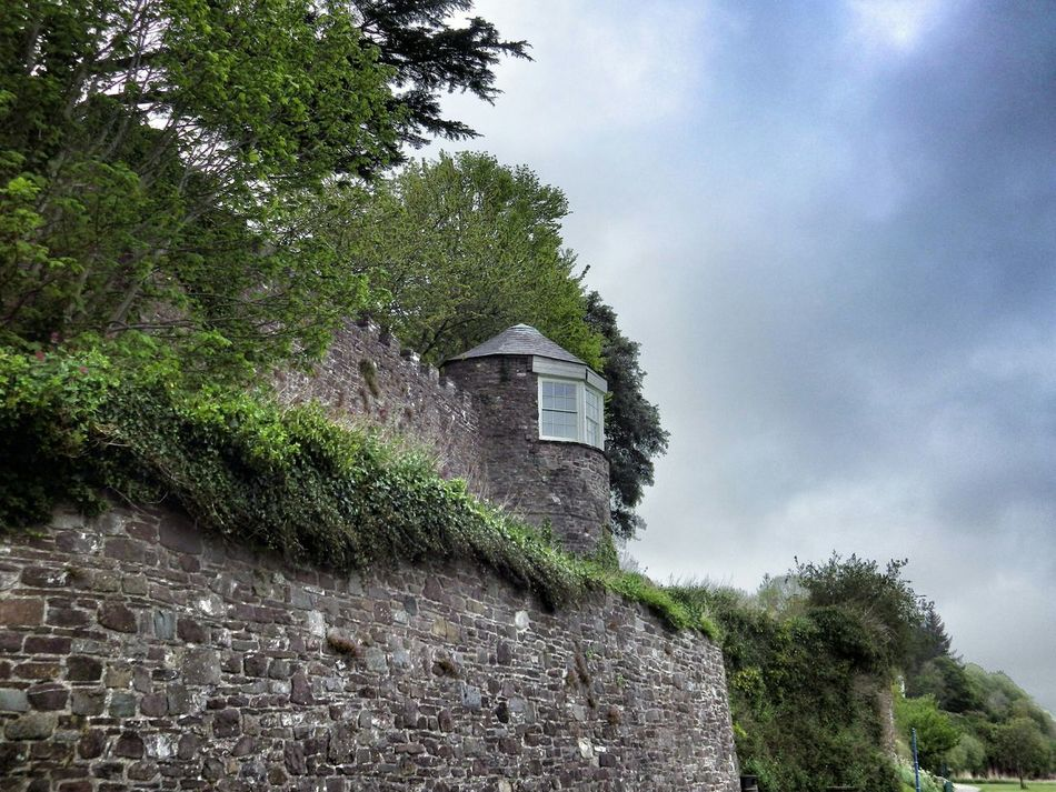 Wales Check This Out Taking Photos Photography Clouds Castle Architecture Old Buildings Green Trees