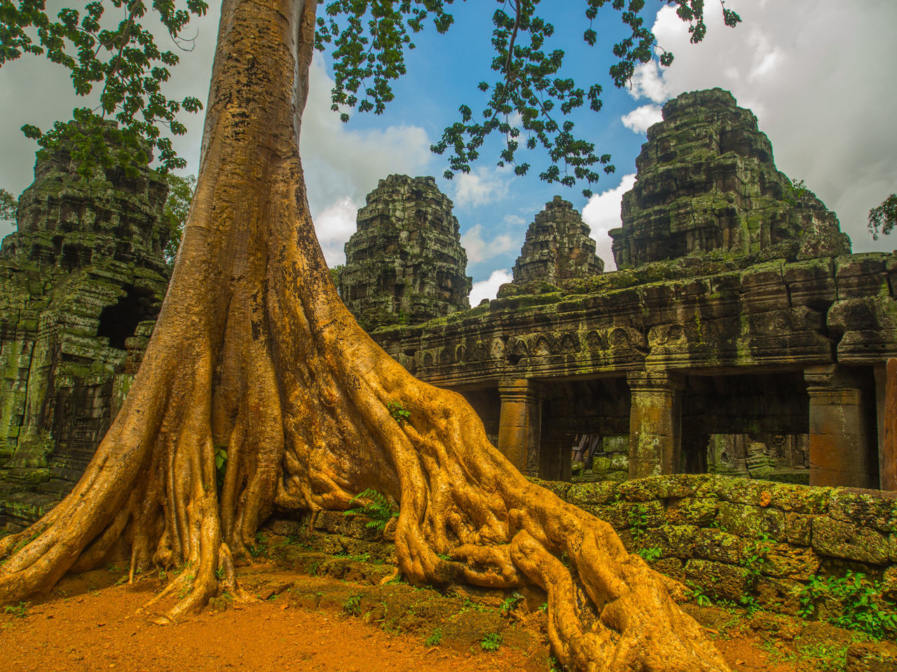 Ancient Architecture Built Structure Cambodia Famous Place History Nature Old Ruin Outdoors Place Of Worship Religion Spirituality The Past Travel Destinations Angkor Thom Angkor Wat, Temples, Kmer Culture