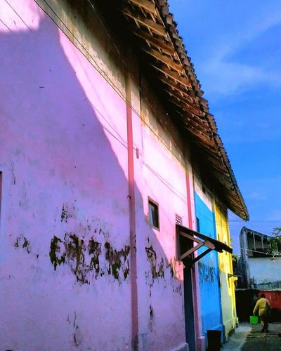 Architecture Built Structure Building Exterior Pink Color Day Sky INDONESIA Community Photography Photophone  EyeEm Gallery Octavianuspict Lenovoa6000 EyeEm Best Shots Eyeemindonesia PhonePhotography Coulour