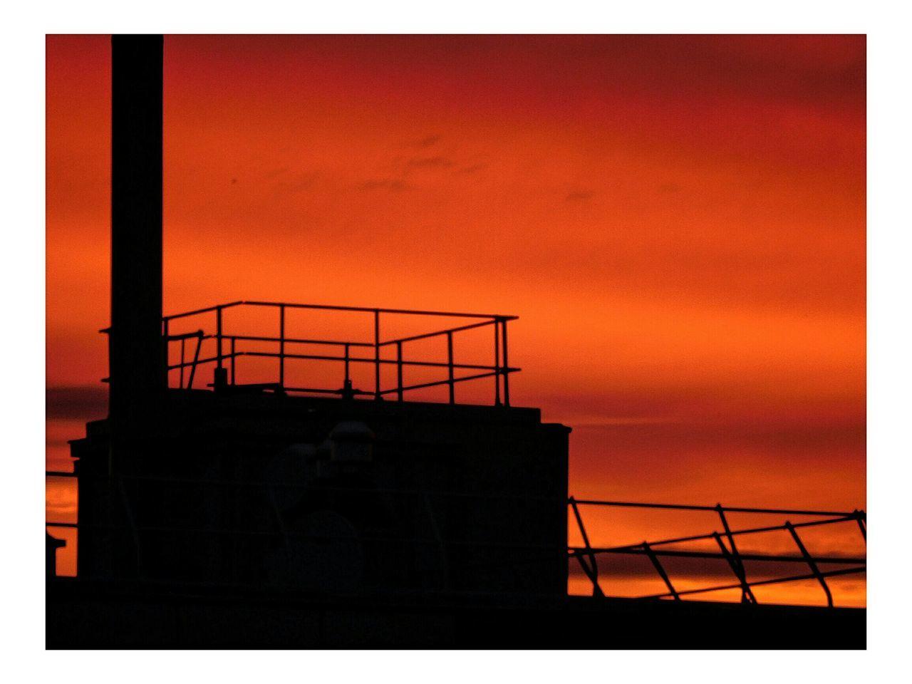 Belvedere Şūr Le Soleil Architecture Silhouette Coucher De Soleil ❤️ Sunset Building Exterior No People Sky Fire Mois De Juin Coucher Du Feu De Dieu