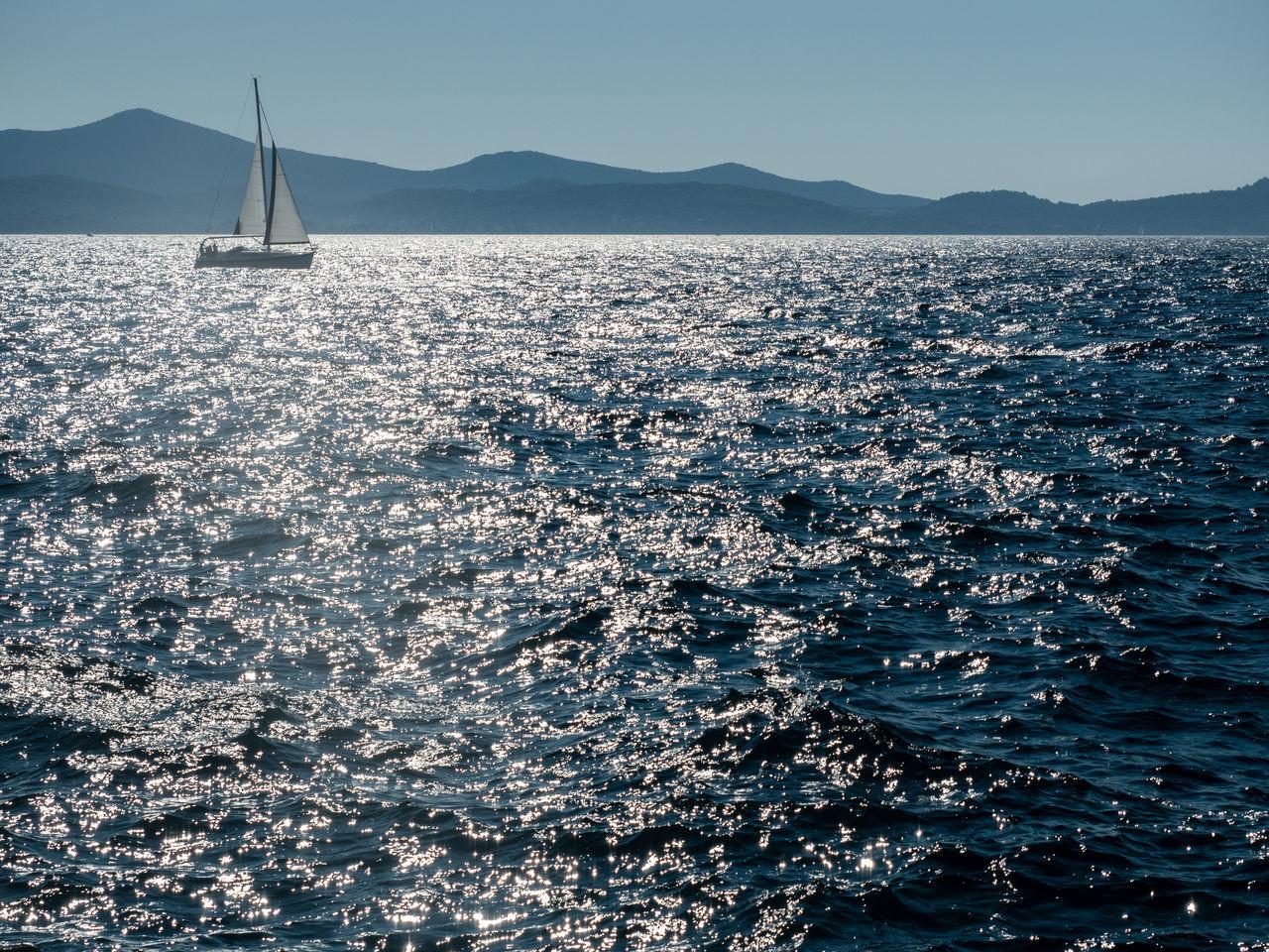 Blue Coast Coastline Croatia Mast Mountain Nautical Vessel Open Space Outdoors Reflection Sailboat Sailing Sailing Ship Sailing Ship Sea Sea And Sky Summer Sunlight Vacations Water Yacht Yachting Zadar