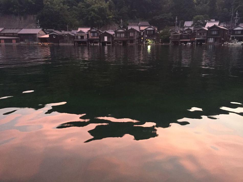Evening INE Water Front  Funaya