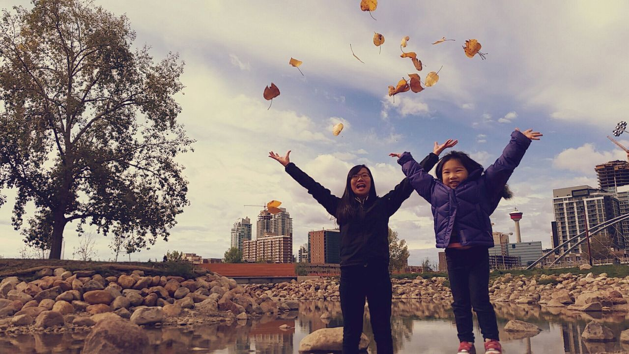 I Love My City Fall Hanging Out Relaxing Cousins  My Best Photo 2015