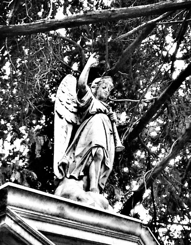 angel Statue Graveyard Beauty historic cemeteries by Simodenegri
