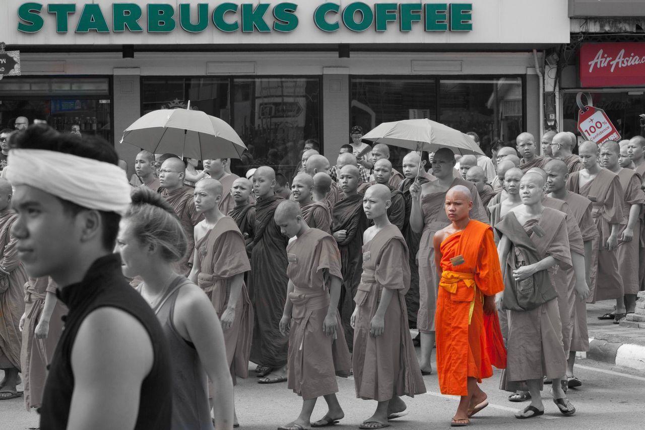 Mönch buddism