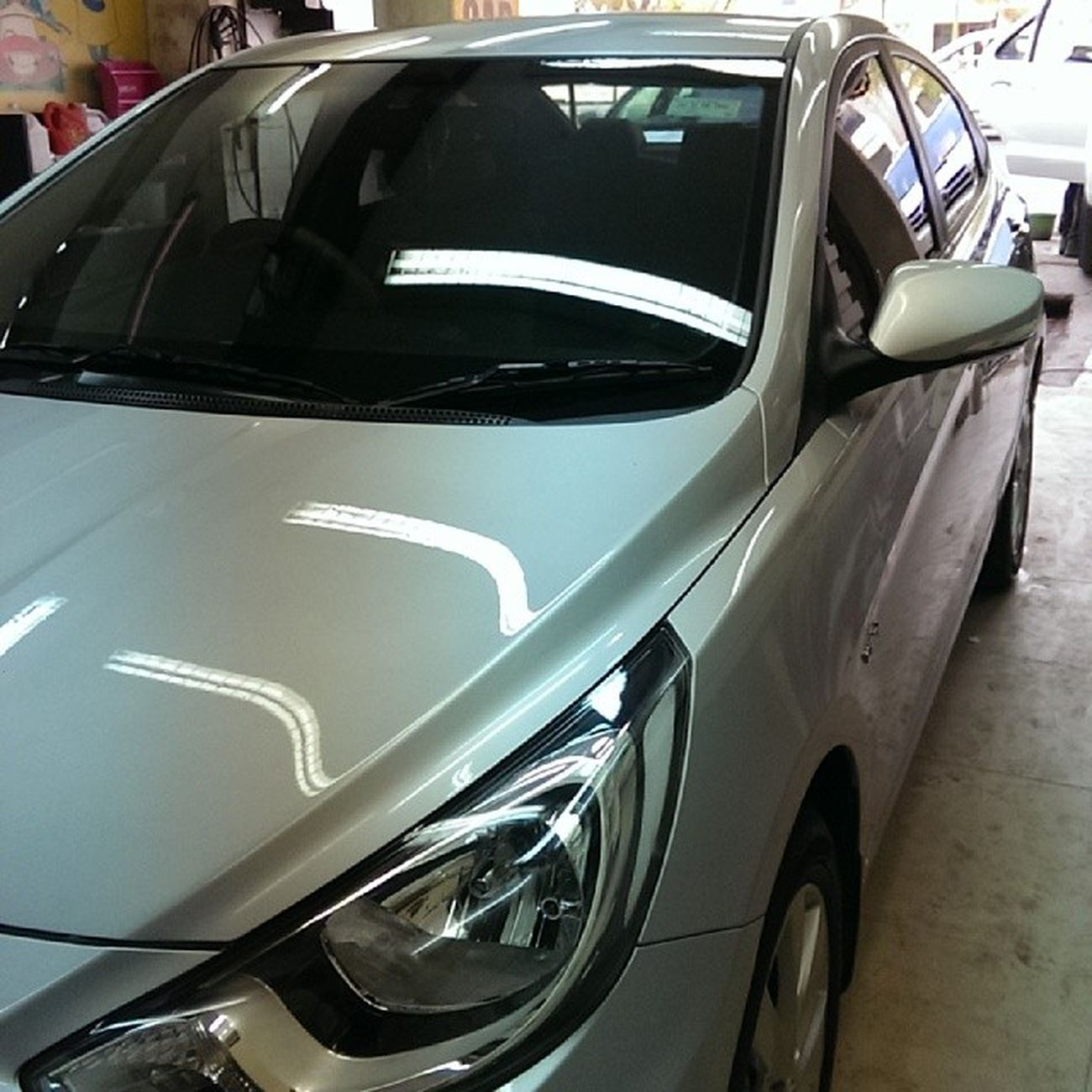 Dads Ride Car Instacar Hyundai Verna Fluidic HyundaiVerna Hyundaiaccent Hyundailove At Carzspa 6 Step Acylic Coating Shine High Gloss Instalike Follow Instagood