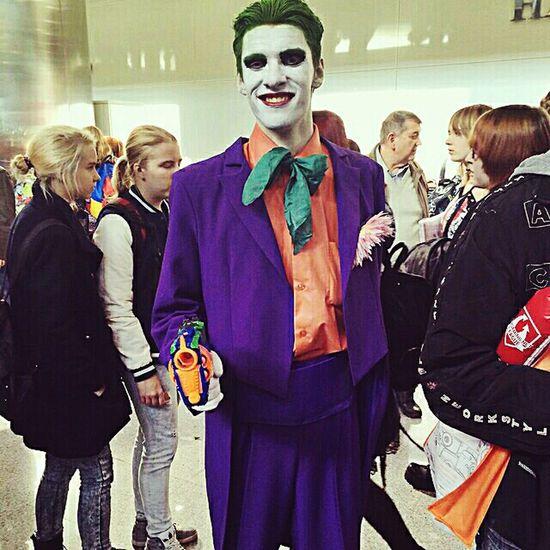 Косплей джокер комик кон EyeEm Best Shots Comiccon2015 ComicConRussia Eye4photography  Joker Cosplayer Cosplay