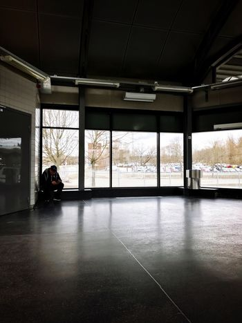 Waiting. Indoors  Window Real People Men One Person People Built Structure Architecture
