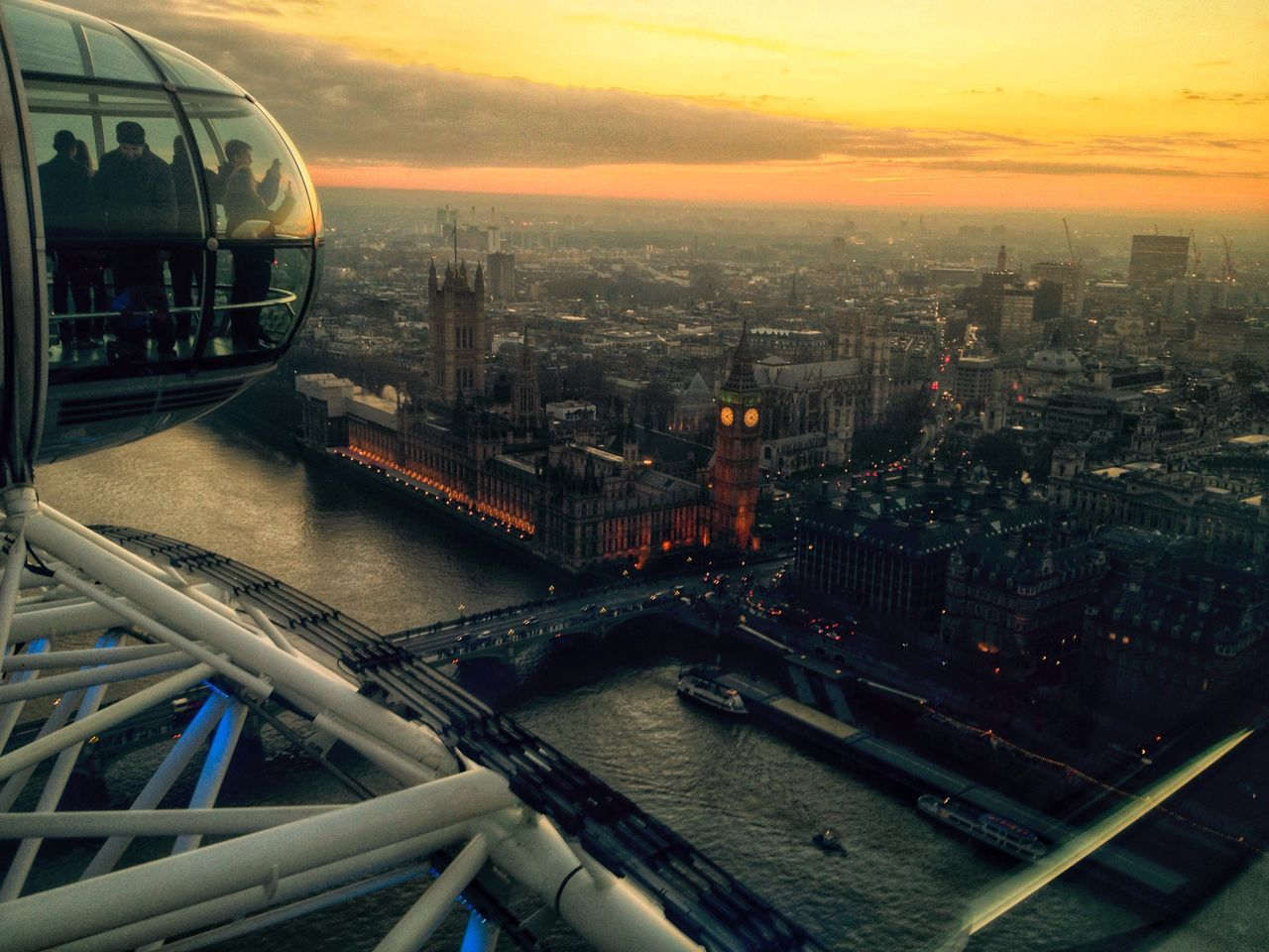 Big Ben From Londoneye Sightseeing Being A Tourist Skylovers The Human Condition I Love My City Photos That Will Restore Your Faith In Humanity Capture The Moment Seeing The Sights The Tourist Pastel Power Urban Spring Fever Photography In Motion Landscapes With WhiteWall