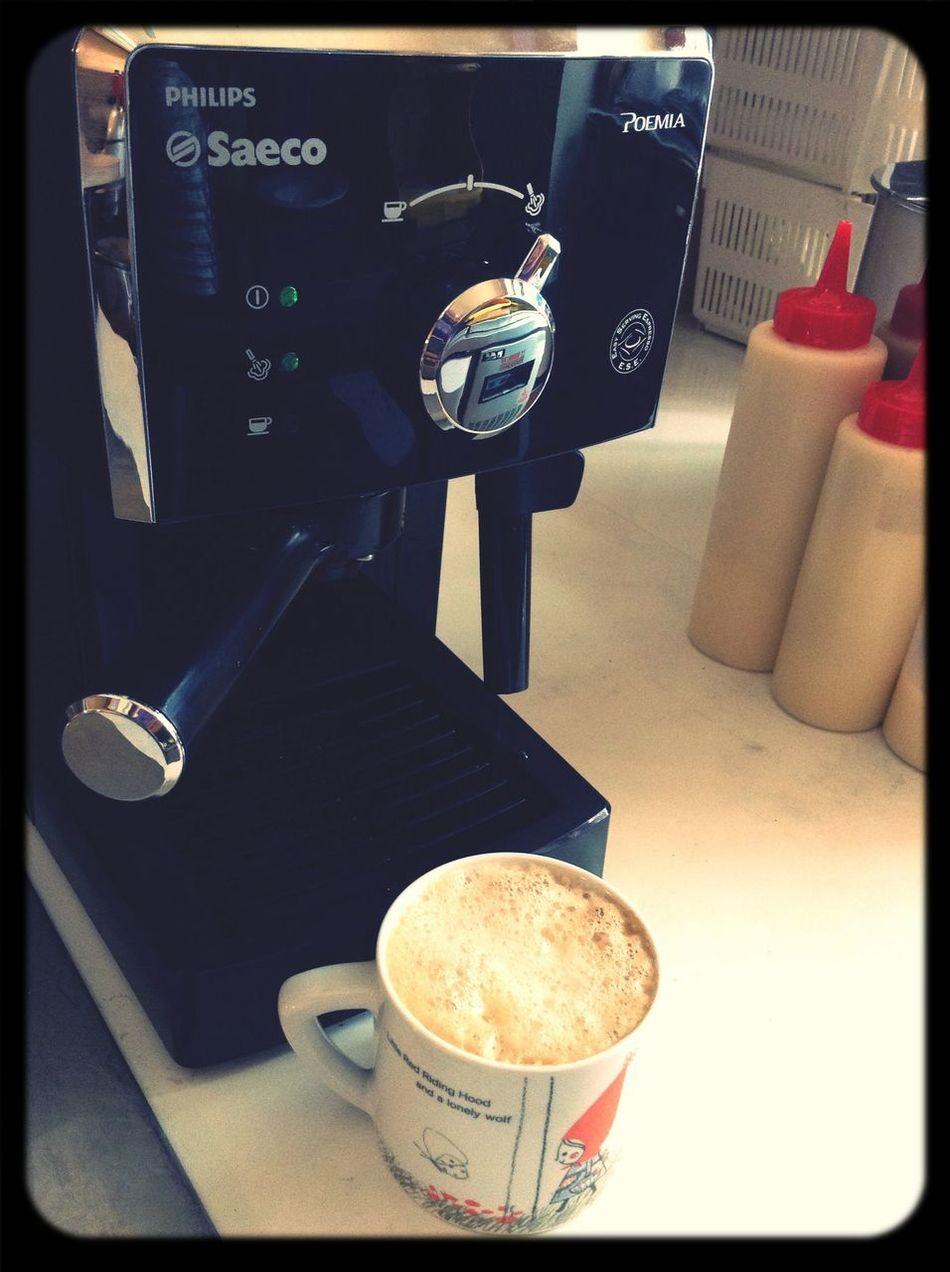 我當爸爸の父親節無故獲得半自動咖啡機,太驚奇了。