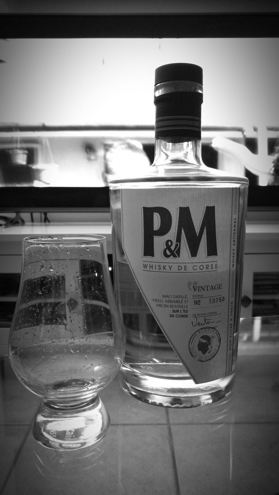 Corsican Blended Whisky Pm Vintage Glencairnglass Verre Slàinte Santé Cheers Salute