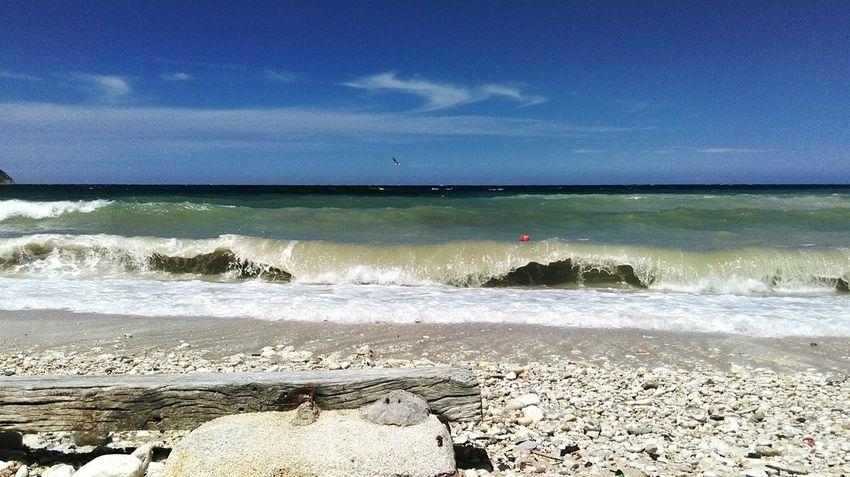 Showcasejuly Go To The Sea Traveling Seaside Sea_collection Sky Water Sea And Sky Sea Conero Portonovo Italy Beach Life Is A Beach