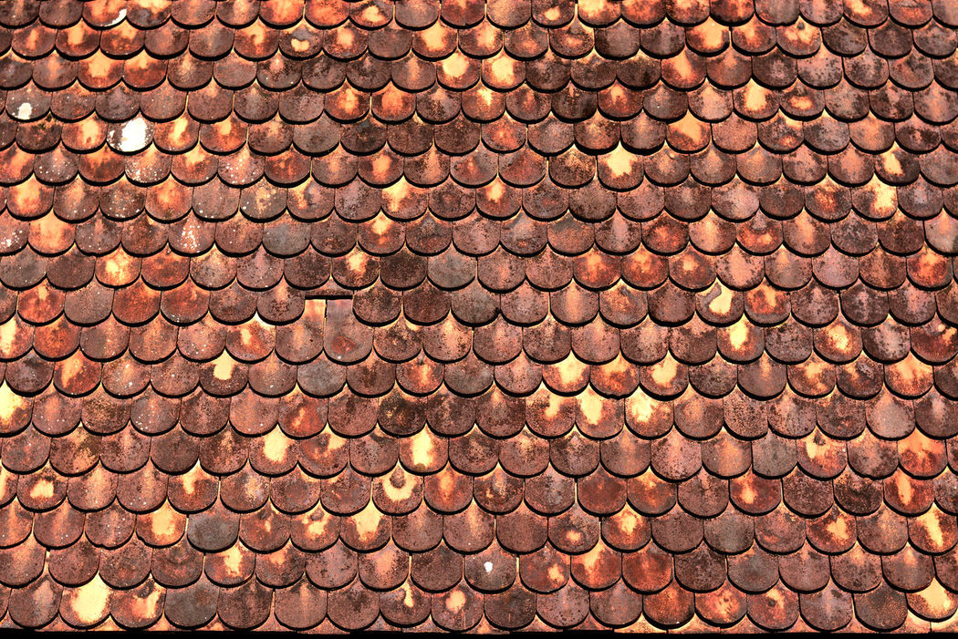 Background Backgrounds Brown Business Close-up Day Full Frame Industry Large Group Of Objects No People Old School Old Style Outdoors Temple Roof Textured