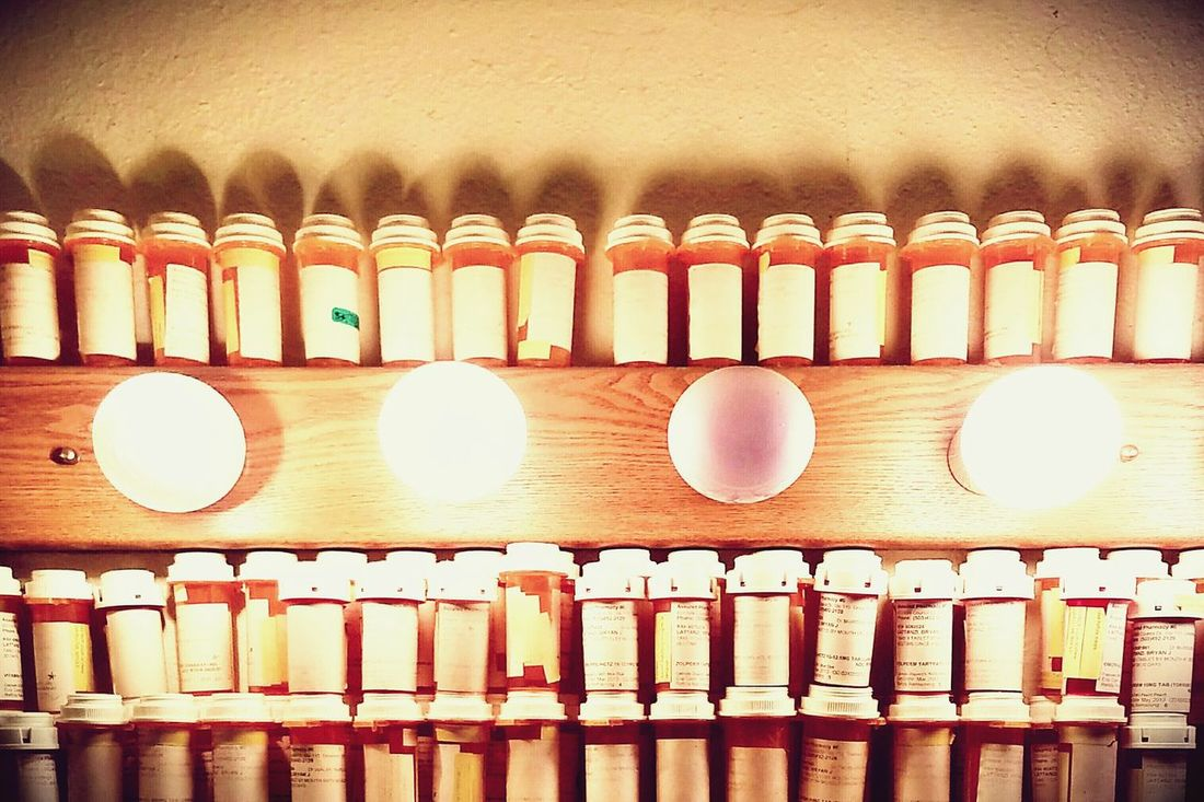 Check This Out EyeEm Gallery Hi! Eyeemphotography Light Hello World EyeEm Best Shots Pills Pharmaceutical Drugs Bottles Collection Brightlights Meds Collection Hoarder Addicted Eyemphotography EyeMeCapture Randomshot