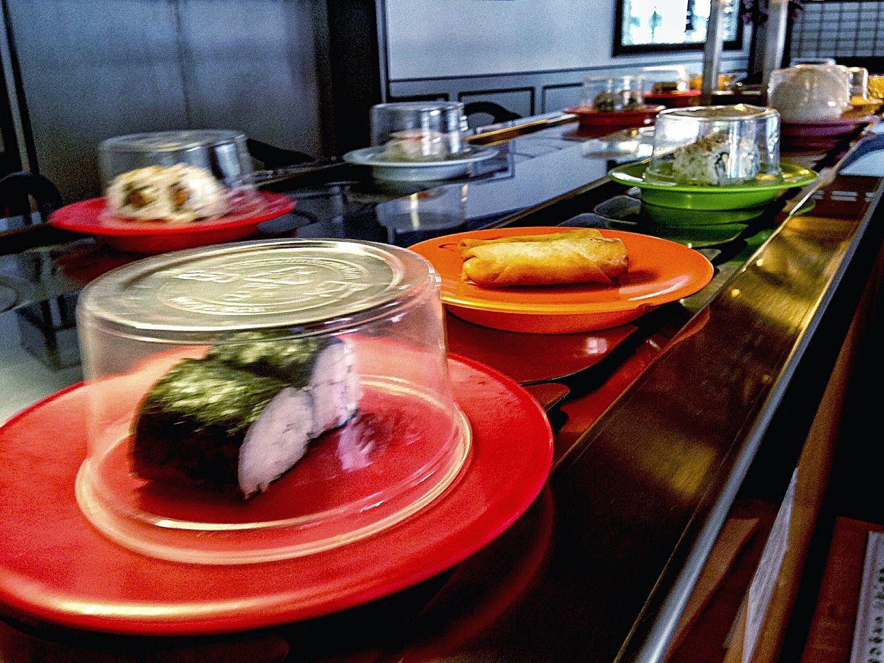 Sushi Sushi Time Japanese Food Eating