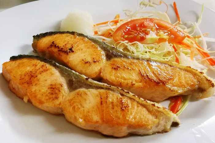 Salmon grill Food Japanese Food Delicious Fish