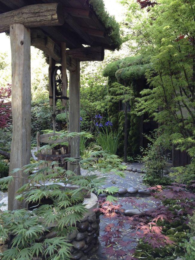 That's Satoyama Life, folks Chelsea Flower Show Formal Garden Garden Hut Kazuyuki Ishihara Path Satoyama Well
