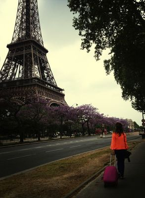 Love at Tour Eiffel by Hayley McCord