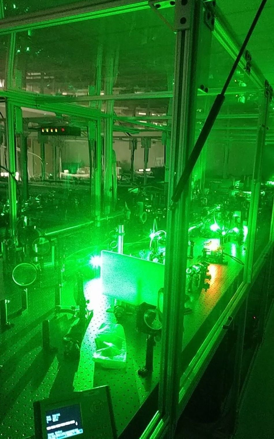 Laser Laserbeam University Campus University Lab Laser Lab Scientist Technology Big Laser Lab
