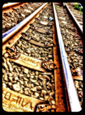 railroad by Oemarendy