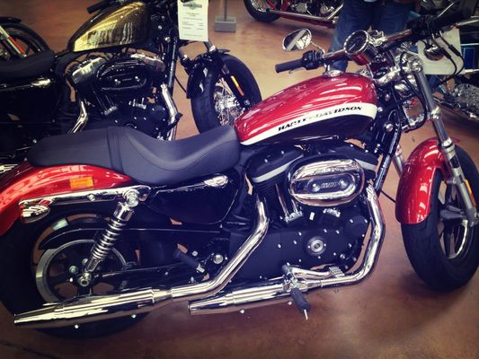 Harley Davidson at Harley-Davidson Factory by Zeny
