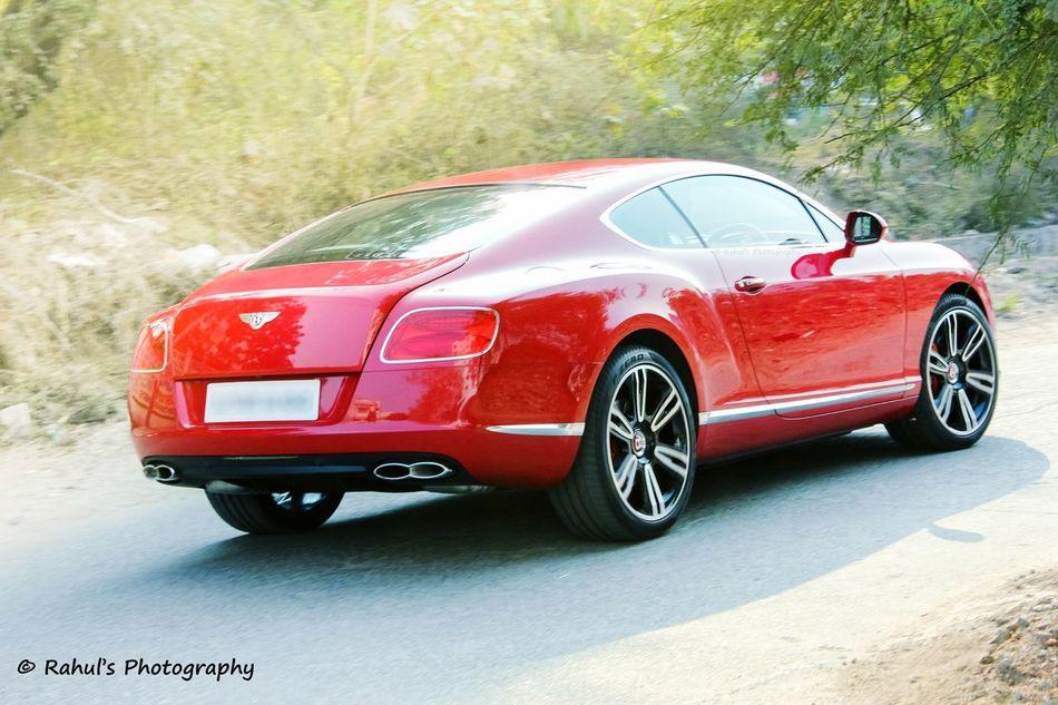 Bentley CGT Hello World Supercar Luxurylifestyle  British India Hyderabad Bentley Red Car Luxury