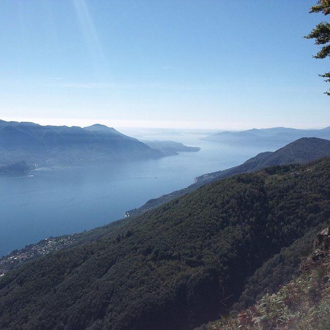 Lake Maggiore Morissolo Lineacadorna view italy