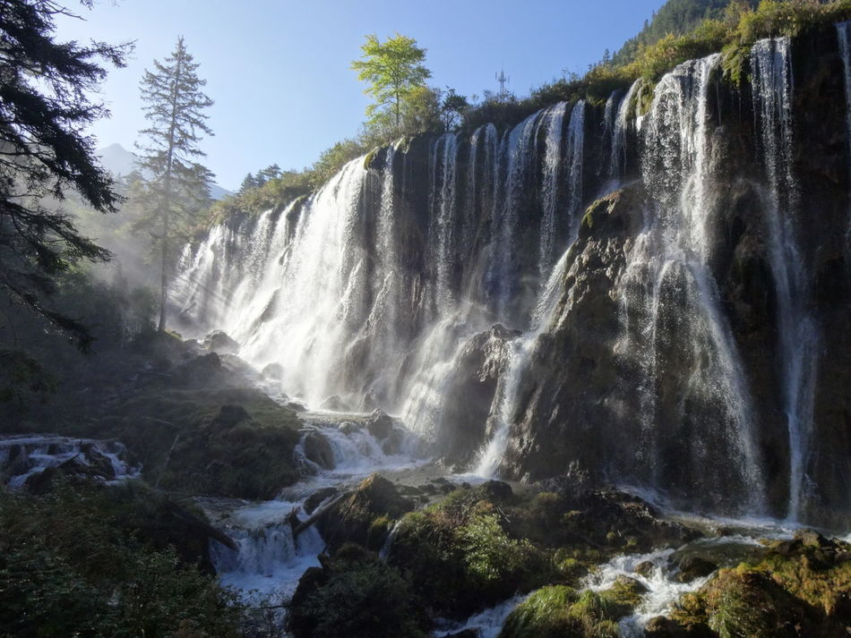 Beautiful stock photos of waterfall, Beauty In Nature, Day, Horizontal, Landscape