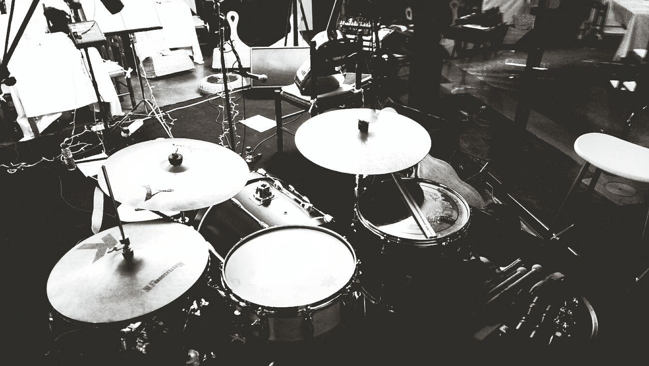 conocert amb els Palance. xavier Serrano @serranillu Drum LIfE ♥♥