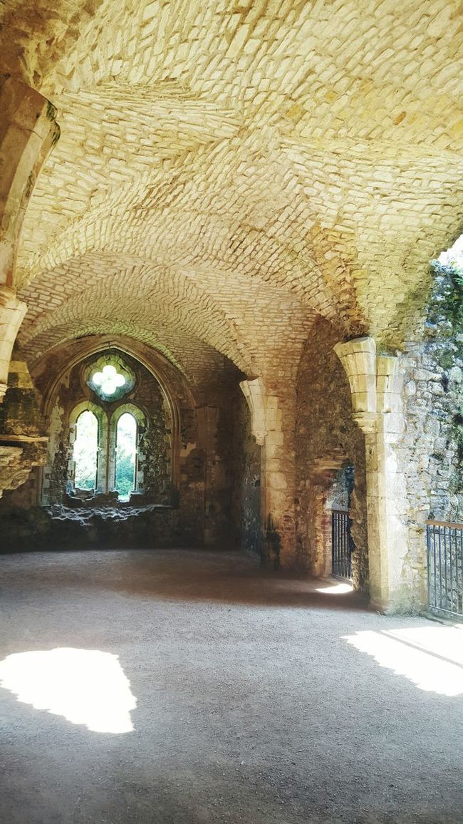 Architectural Beauty Historic Places Arched Ceilings Amazingceilings Creative Eye Abby Ruins Amazing Architecture