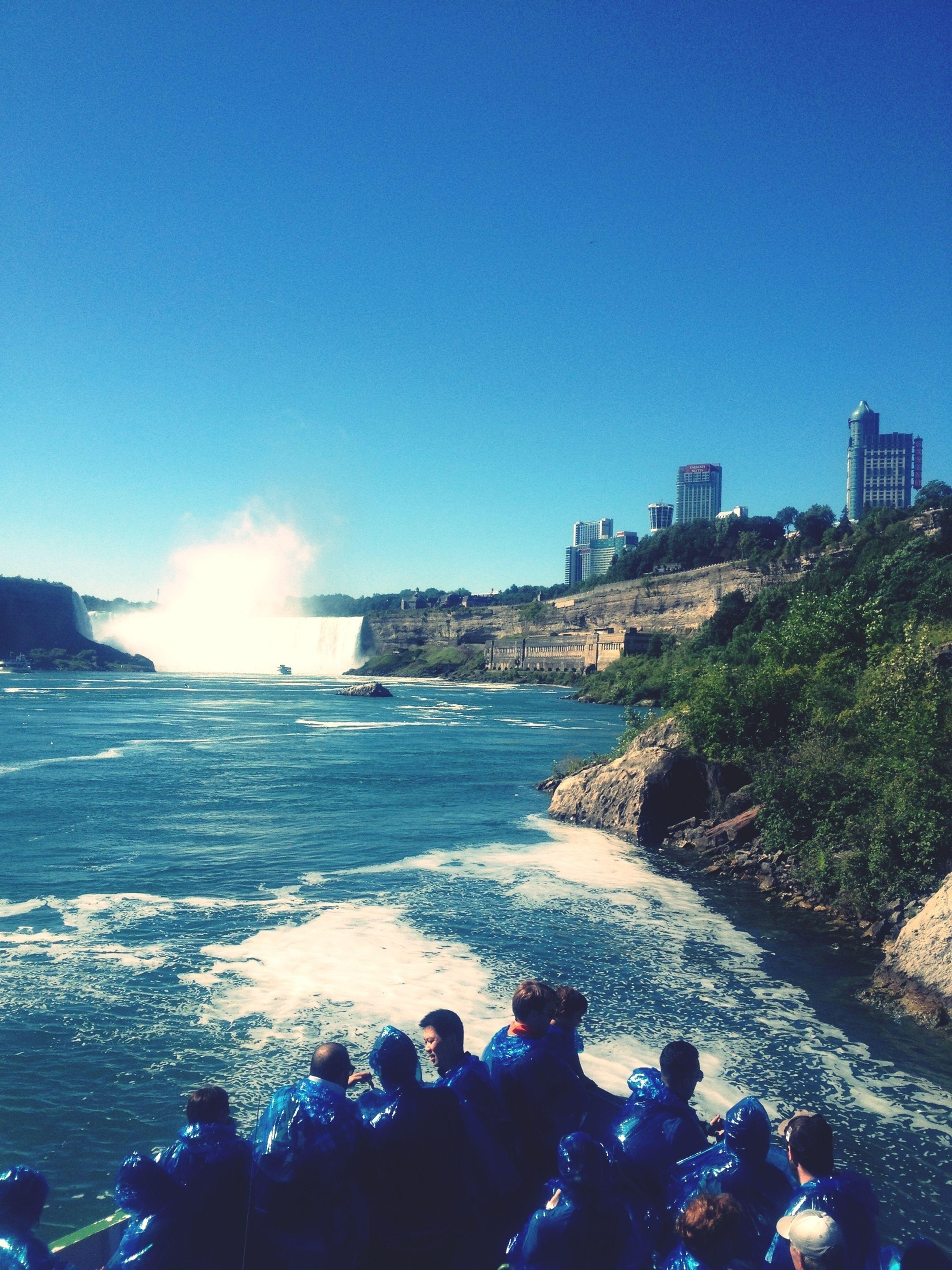 Ferry Enjoying The Sights Boat Ride Niagara Falls
