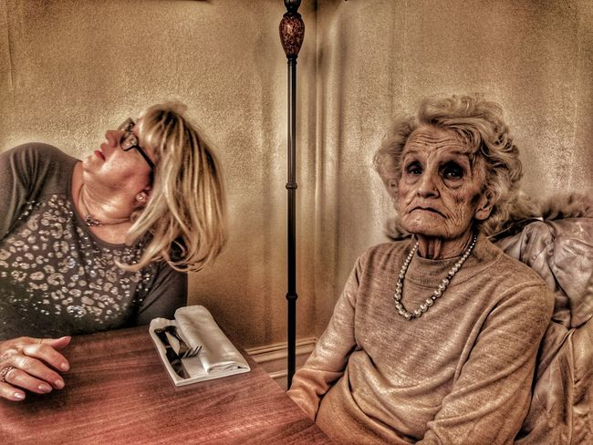 Senior Adult Senior Women Adult Adults Only Indoors  One Person Oh Dear What Where Who What Who Where My Mother MY MOTHER <3 My Mother And Sister 83yrs Cancerawareness Cancer Survivor My Mum ♥  My Mother :) Dinner Time Women People Disinterestedlearning The Portraitist - 2017 EyeEm Awards