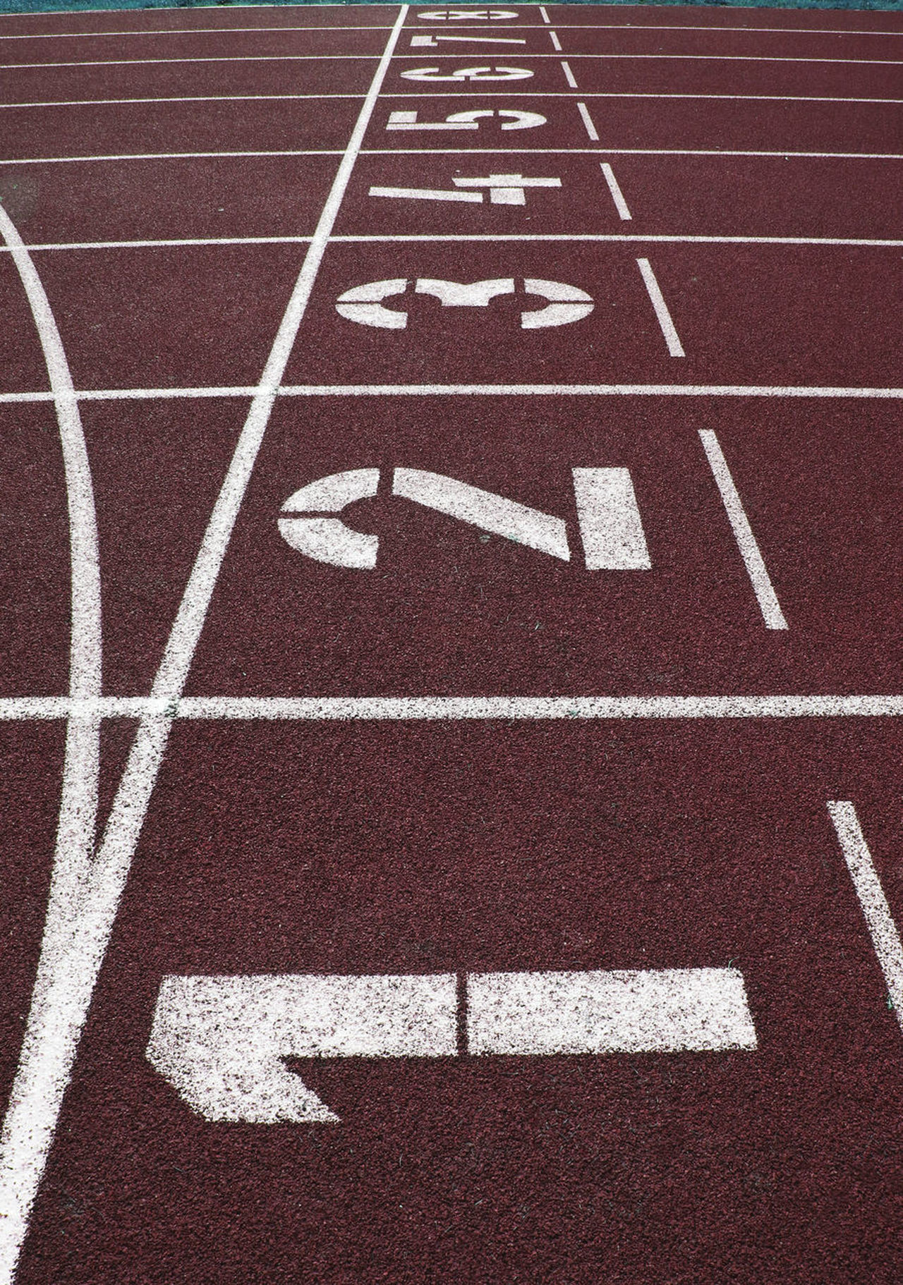 Track, Athletics, Track and field Close-up Competition Competitive Sport Day Exercising Finish Line  No People Number Outdoors Playing Field Running Track Sport Sports Race Sports Track Sprinting Stadium Starting Line Track And Field Track And Field Event Track And Field Stadium Track Event