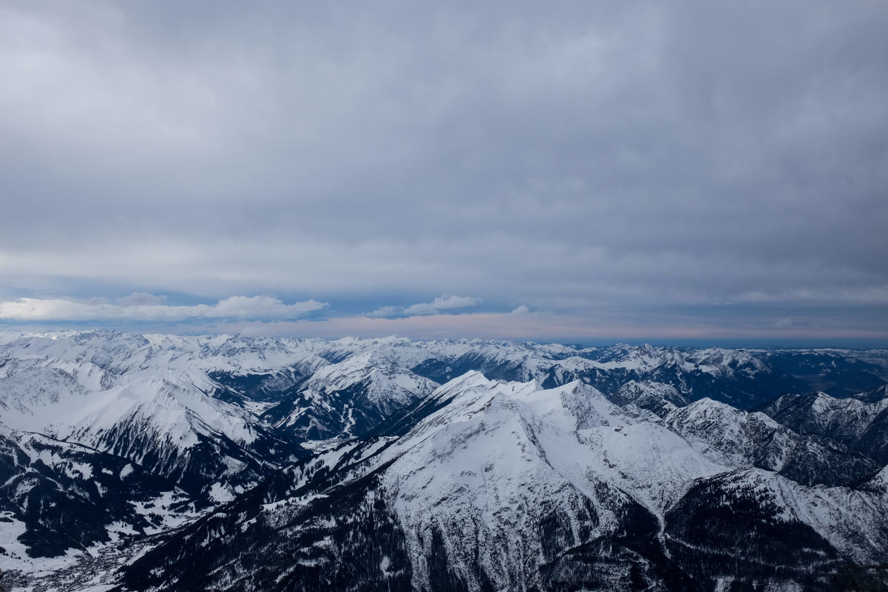 Alpen Alps Bavaria Bayern Mountains Mountains And Sky Nature Sky Skyporn Snow Winter Zugspitze
