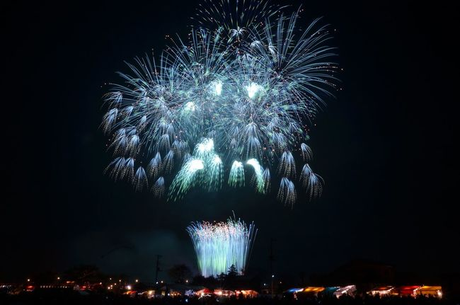 最近ブルーが好きです🐟 Firework Introducing Culture Of Japan Which Must Be Left To The Future…… 未来に残す日本の文化 夢の国 Enjoying Life