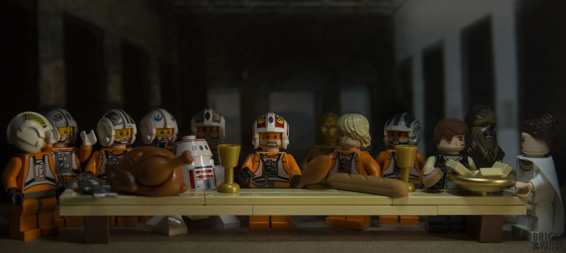 KyloRen Large Group Of Objects LEGO Lego Minifigures Legophotogallery Legophotography Legophotograpy Starwars Still Life Table Taking Photos The Last Supper Toycommunity Toycrewbuddies Toyphotography Toyplanet Toys