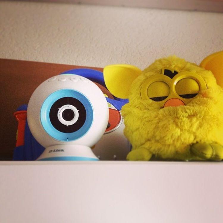 Mein #Furby hat Unterstützung erhalten von der #EyeOn dlink_gmbh Furby Eyeon