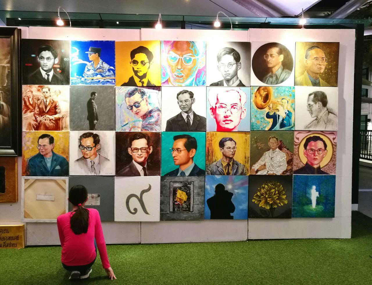 Watching Photograph King King Of Thailand Beloved Beloved King King Bhumibol Adulyadej
