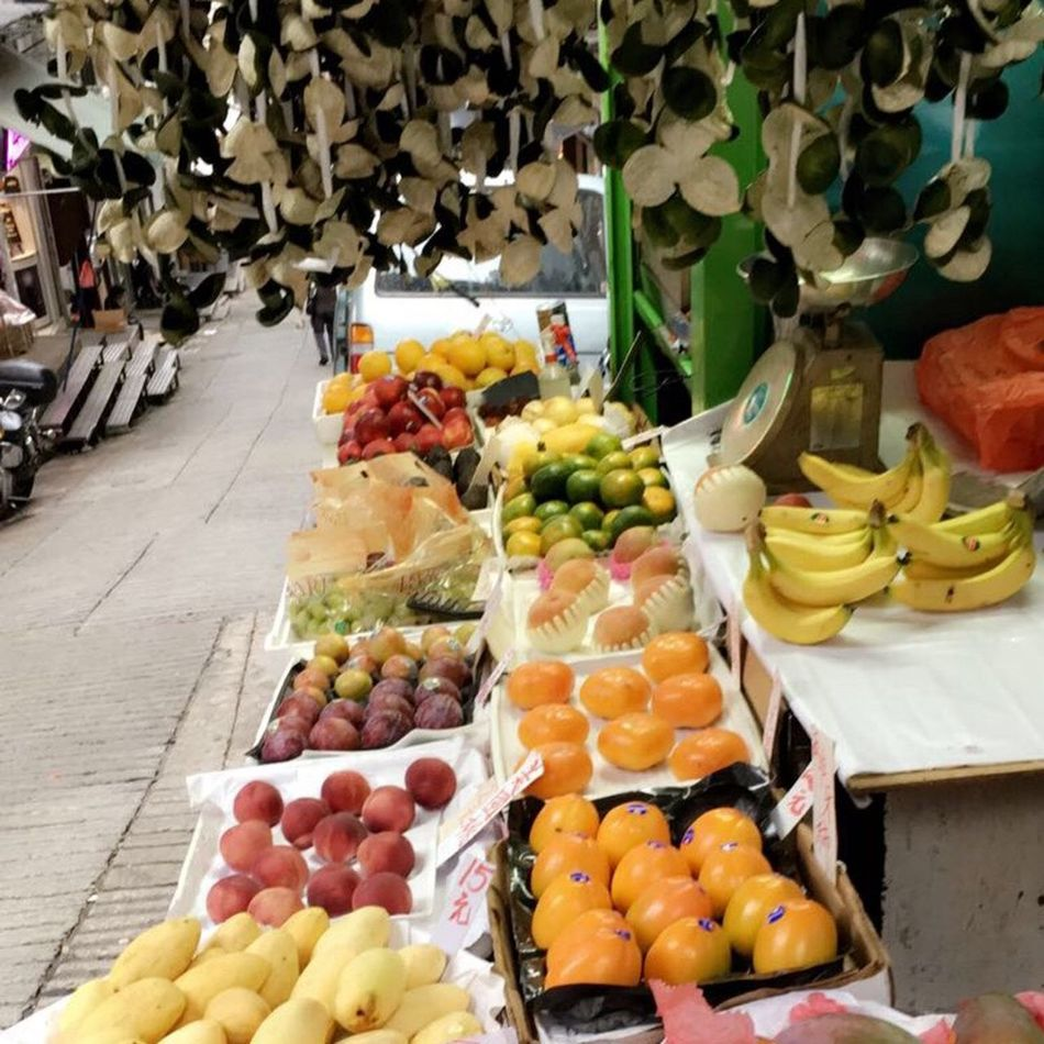 Food And Drink Fruit Food Variation Large Group Of Objects Healthy Eating Ripe For Sale Choice Freshness Healthy Lifestyle Apple - Fruit Market Retail  Abundance Banana Selective Focus Multi Colored Order In A Row