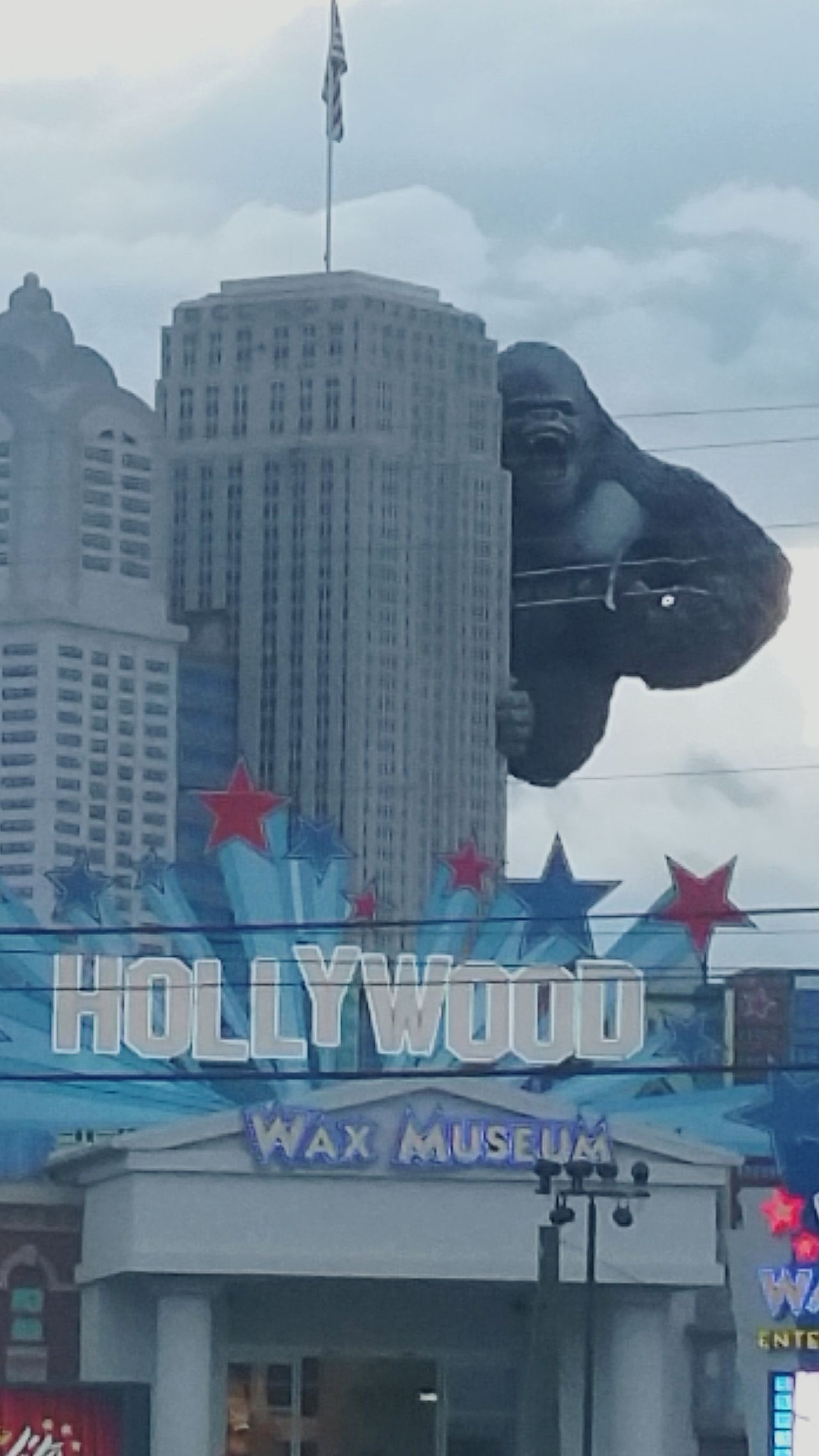 Check This Out Vacation Spot King Kong Hanging Out as seen while on vacation in Pigeon Forge TN