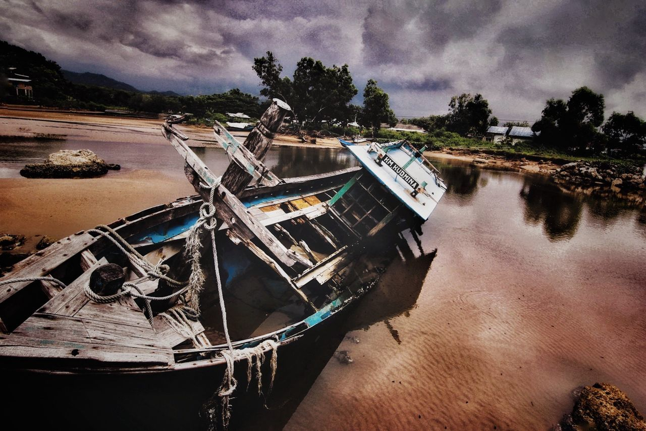Wreck Photography Canon Explorepacitan Capture The Moment Tokina 11-16 Mm F/2,8 Landscape_Collection Sky Dramatic Sky Captured Moment
